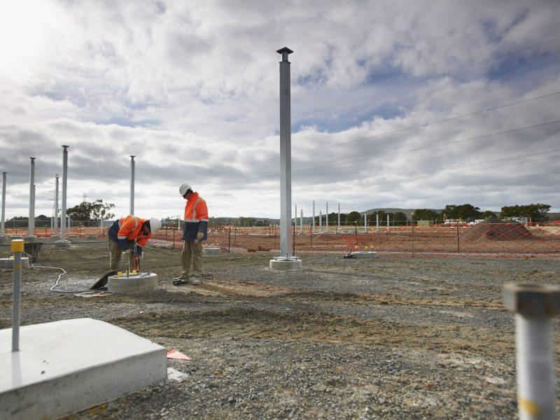 Infrastructure Solar Installation