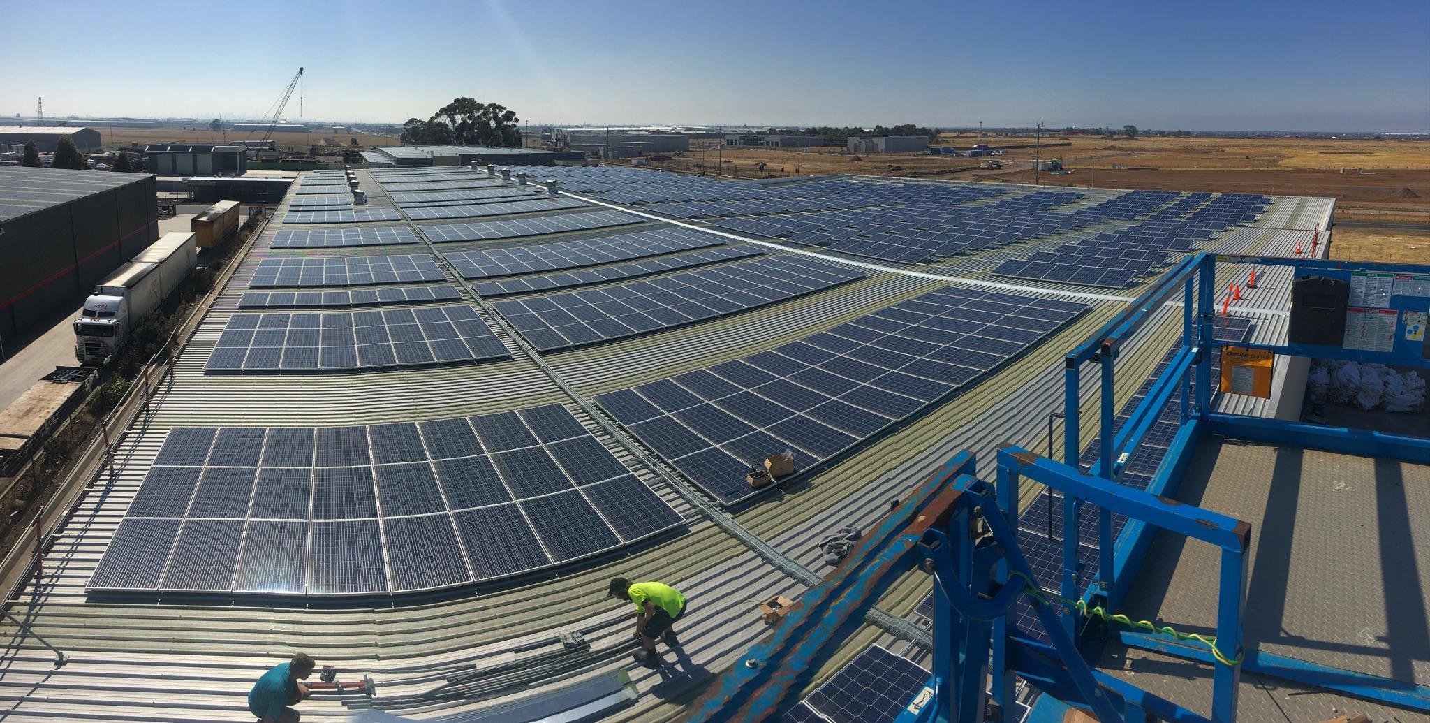 Commercial and Industrial Solar