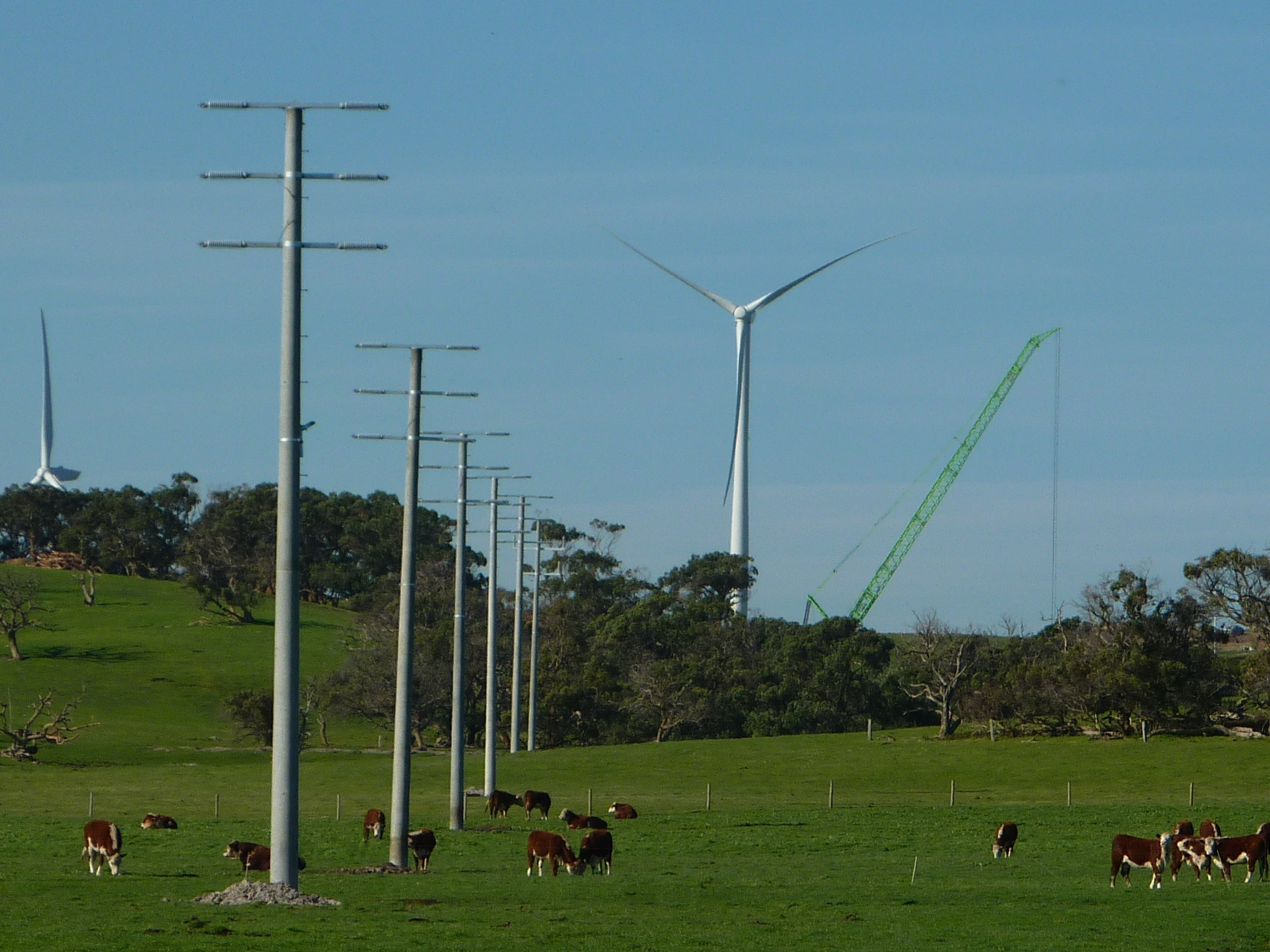 elaine terminal station wind farm