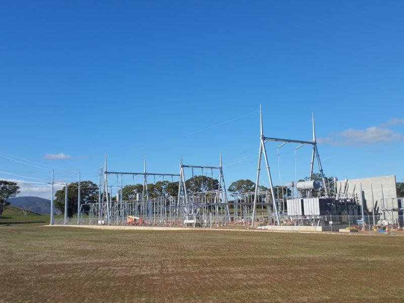ararat wind farm terminal station